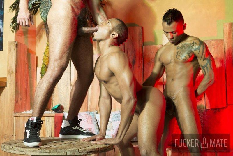 Raw Latino Threesome 10