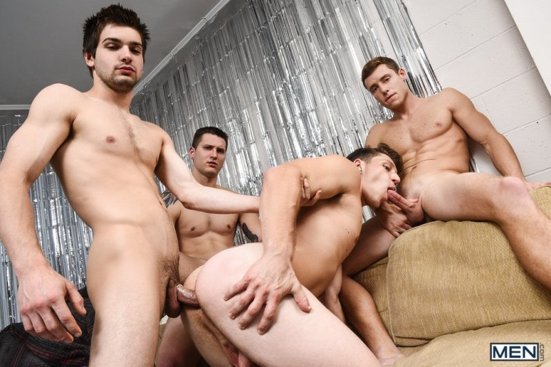 Paul Canon In Naked Frat House 10