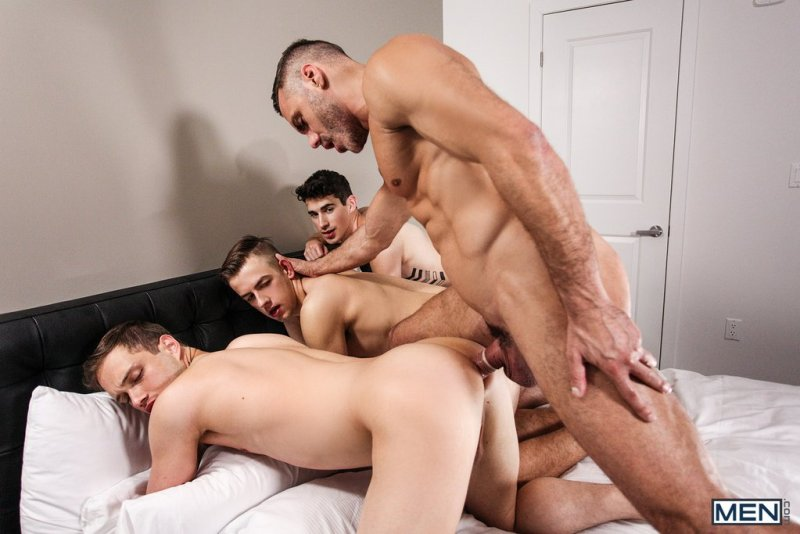 Sexy Daddy Manuel Skye Fucks Three Boys 05