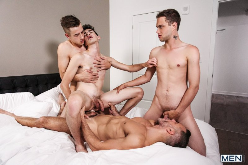 Sexy Daddy Manuel Skye Fucks Three Boys 06