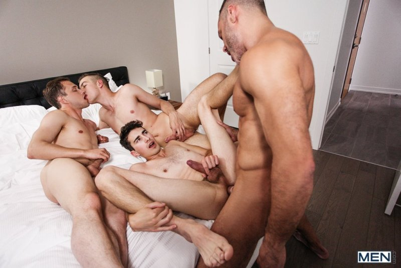 Sexy Daddy Manuel Skye Fucks Three Boys 07