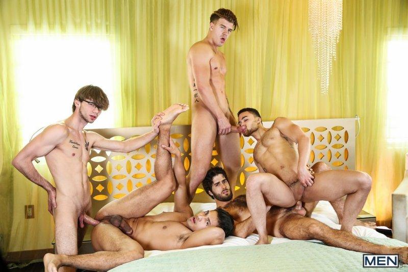 Five Horny Guys Fuck Hard 05