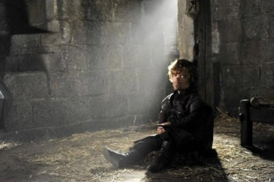 Game of Thrones Tyrion in jail in Breaker of Chains
