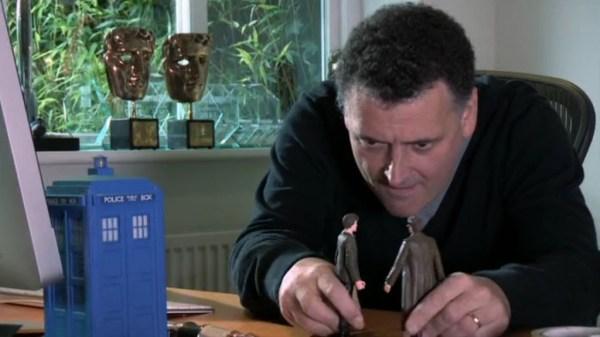 Moffat is a Doctor Who fan boy