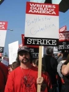 Battlestar Gallactica' s Ron Moore strikes