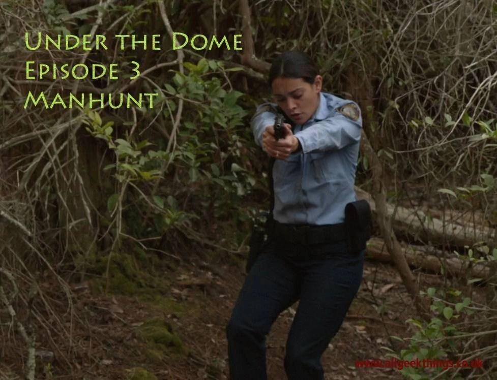 Under The Dome Manhunt