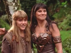 xena maternal instincts Xena and solon