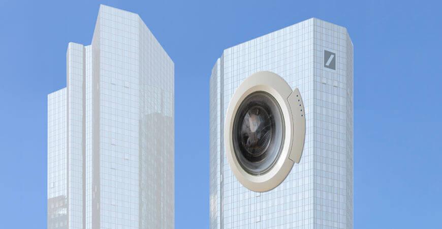 """Nicht nur der Umbau, auch die Umbenennung der Frankfurter Doppeltürme steht an. Aus """"Soll und Haben"""" wird """"Trockner und Wa"""