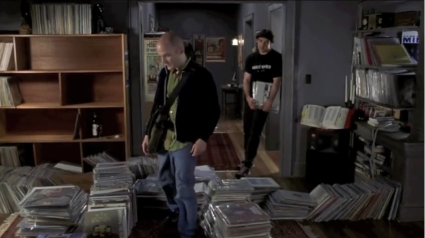 Reorganising your vinyl record collection.