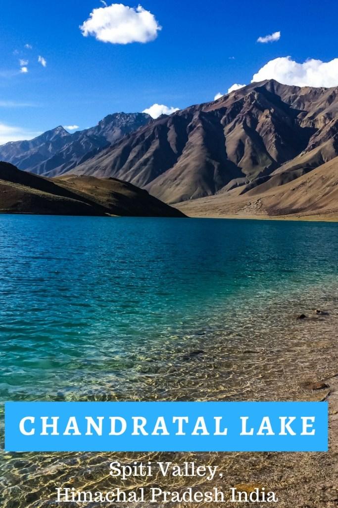 Chandratal lake, Spiti valley, Himachal Pradesh, India