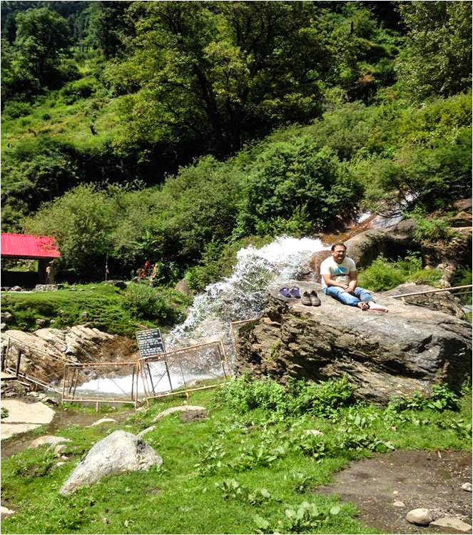 Rudra Naag Temple, Hike to Hot Water Spring kheerganga, Himachal Pradesh