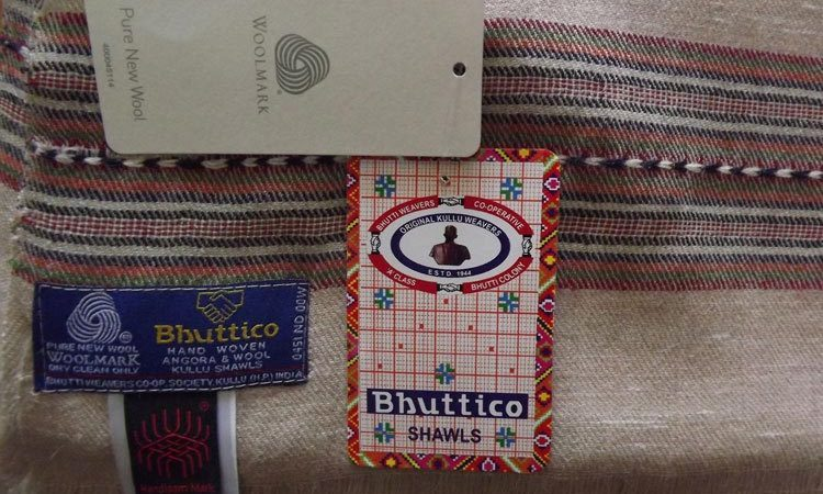 Bhuttico Kullu Shawls & Accessories - Trademark - Gift of valley