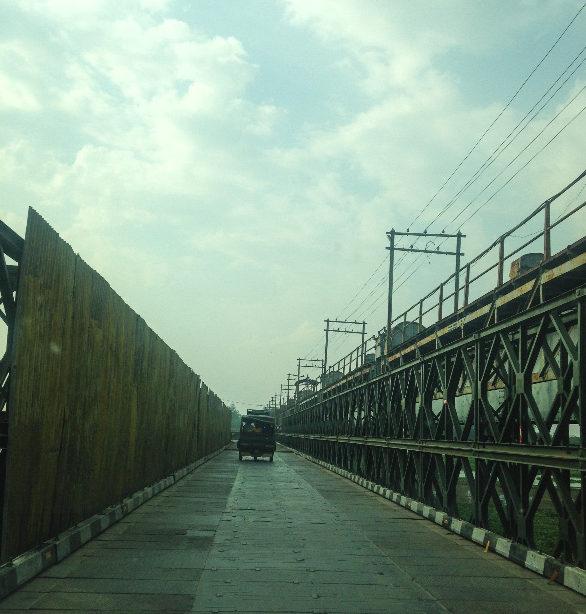 Iron Bridge near Hussainiwala Border, Firozpur