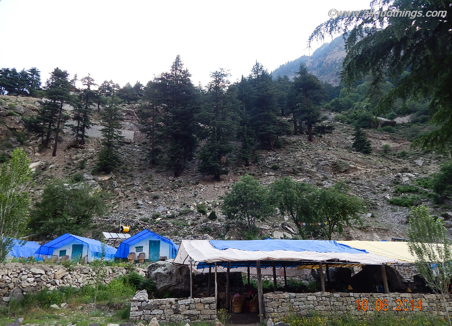 Colored Huts in Sangla Valley, Kinnaur, Himachal