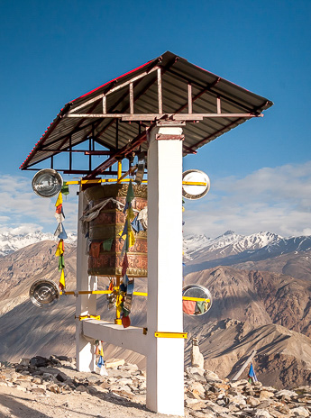 Prayer Wheel at Nako Village