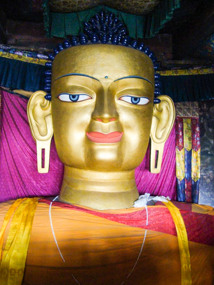 Shakyamuni Lord Buddha at Shey monastery: 6 must visit Leh Ladakh Palaces before they disappear