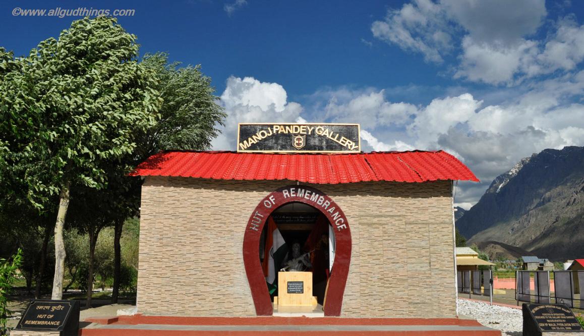 Manoj Pandey Gallery at Kargil War Memorial