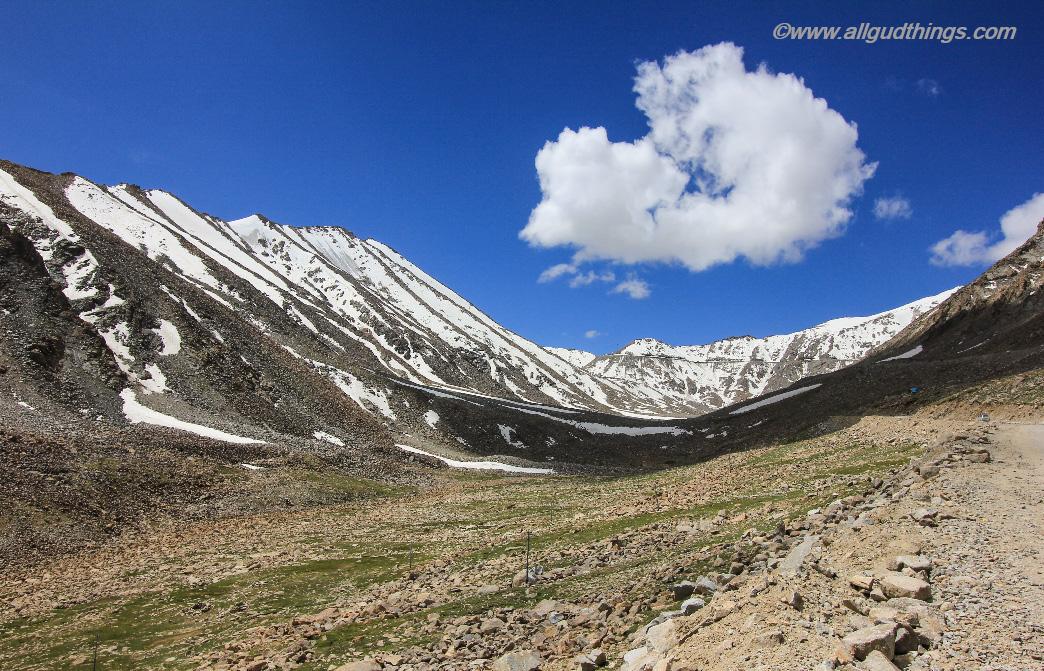 Near KhardungLa @18380 feet: Leh Ladakh Inner Line Permit