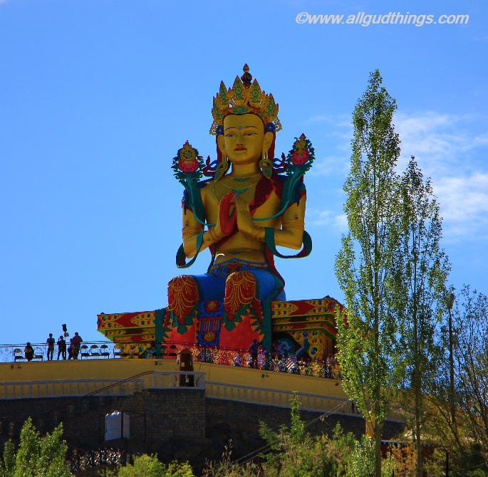 Maitreya Buddha Statue, Nubra Valley
