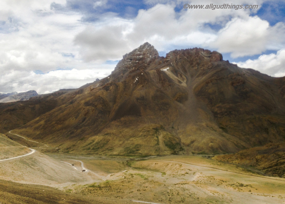 Views from Lachung La: Ladakh, The Land of High Passes