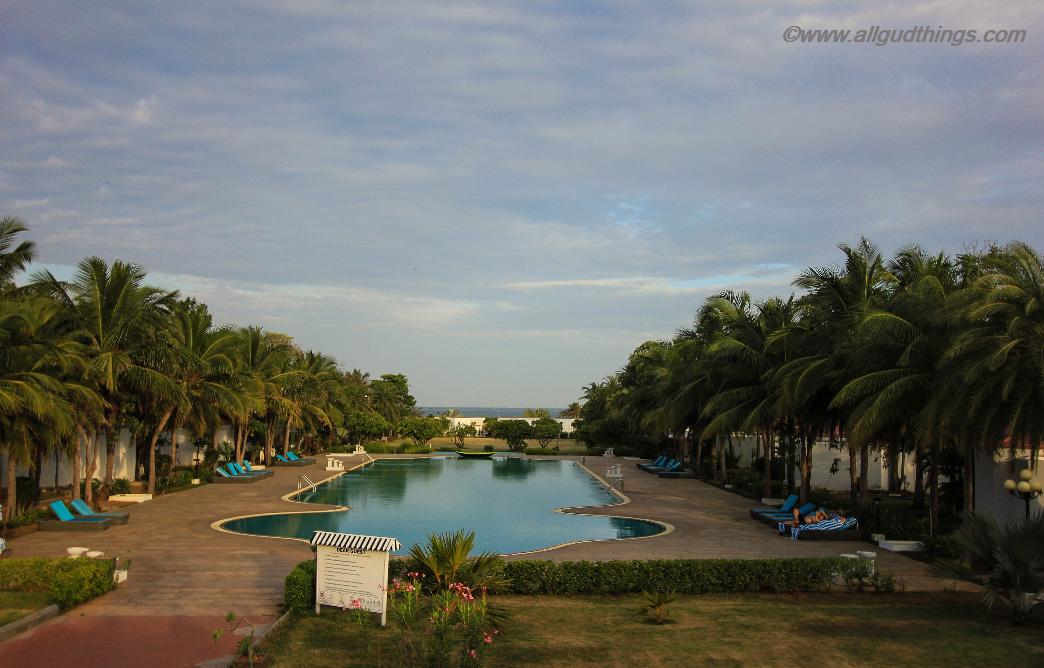 Olympiad Size Swimming Pool at Chariot Beach Resort Mahabalipuram