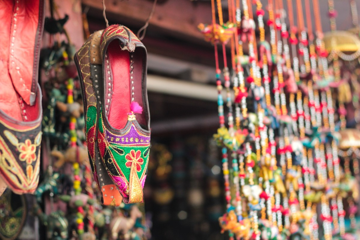 Jaipuri Juiti (Shoe) - Travel Guide to Jaipur Pink City
