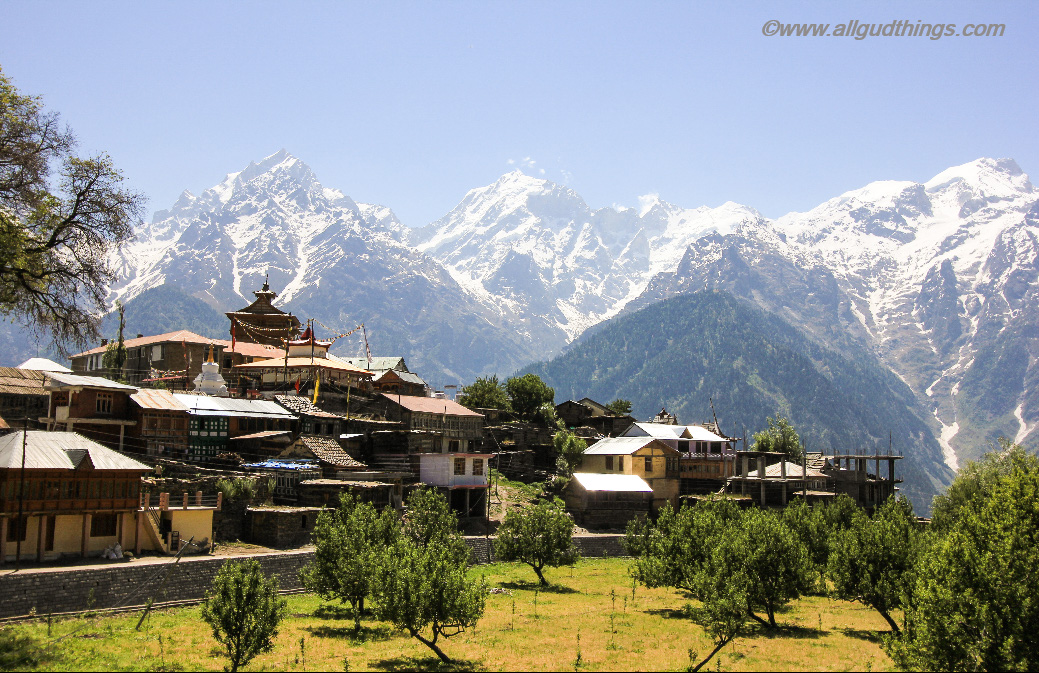 Kalpa Village : Travel Guide for Lahaul Spiti road trip