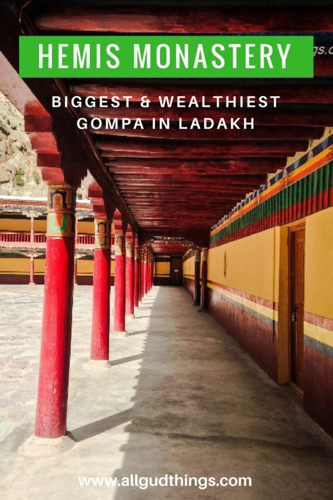Hemis Monastery, The Biggest & wealthiest Gompa in Ladakh