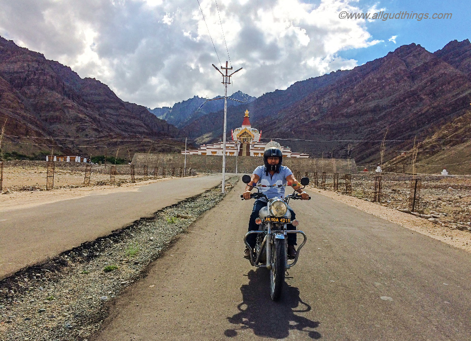 On the way to Hemis Monastery