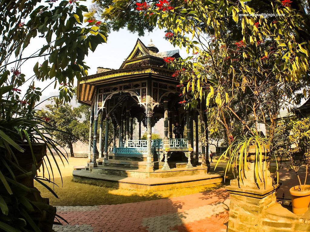 Machhkandi from different angle at Padam Palace, Rampur