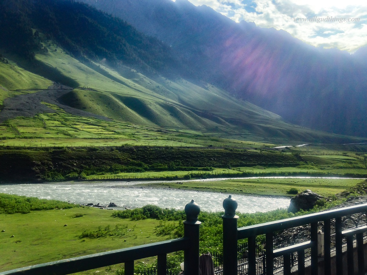 First morning look of Sonamarg after rain - The Golden Meadows of India