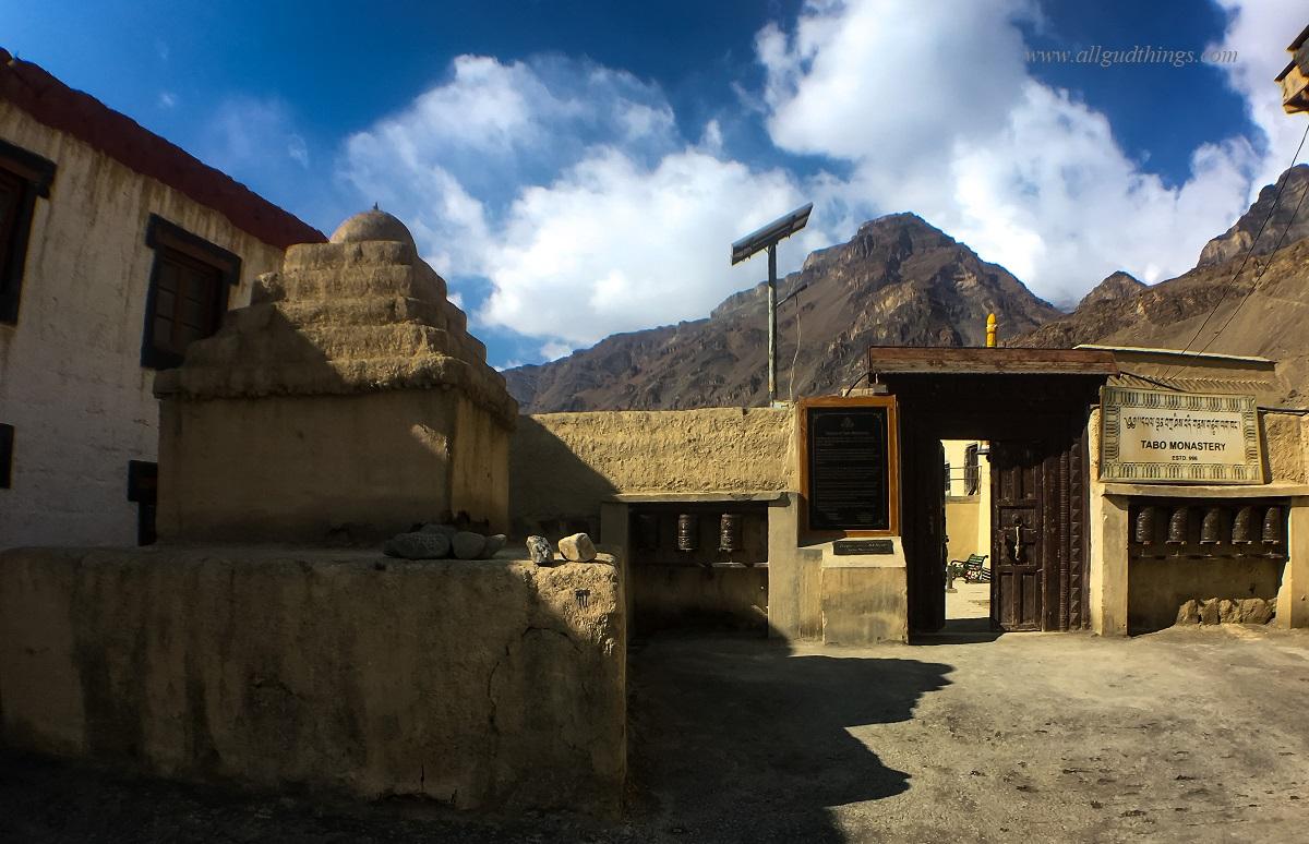 Tabo Monastery Entrance, Spiti Valley