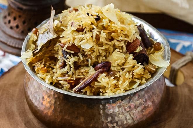 Modur Pulav - Sonamarg, Kashmiri Cuisine