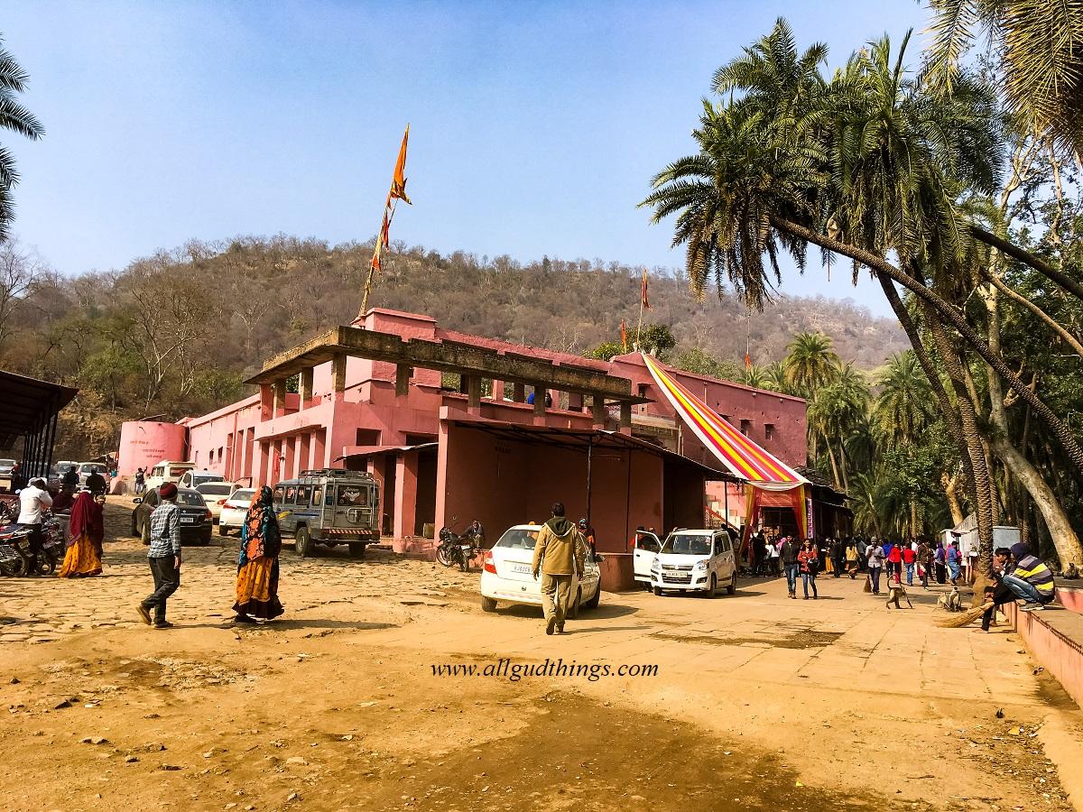 Pandupol Temple in Sariska Tiger Reserve