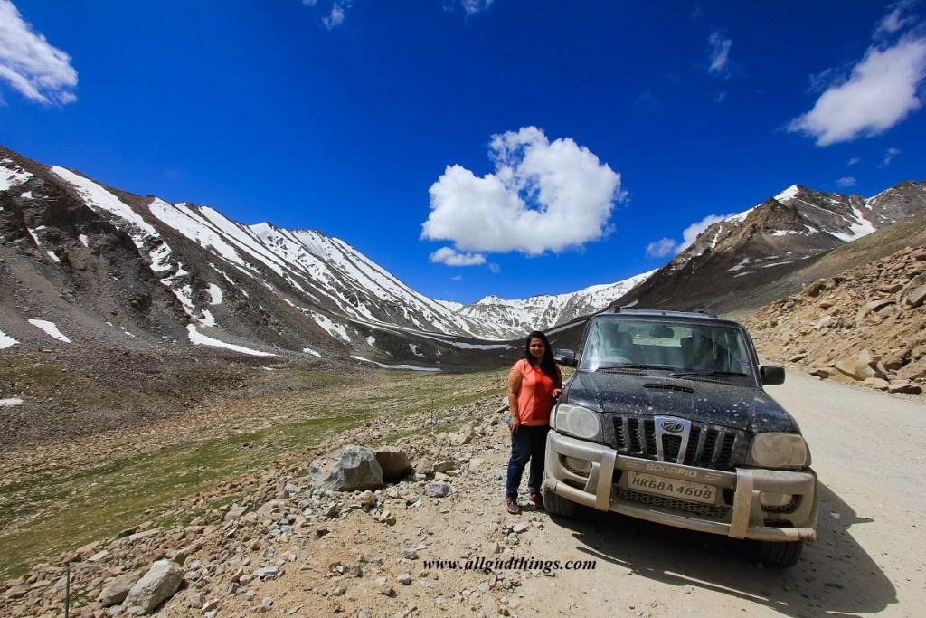 Near KhardungLa, Ladakh Road Trip