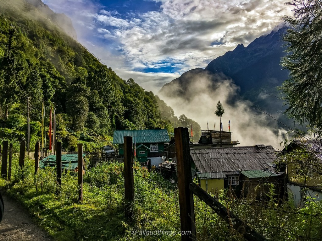 Lachung in North Sikkim