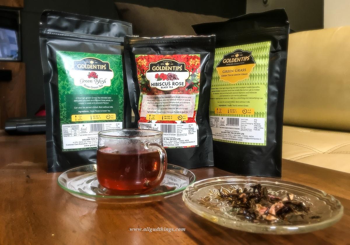 Whole Leaf HIbiscus Darjeeling Tea