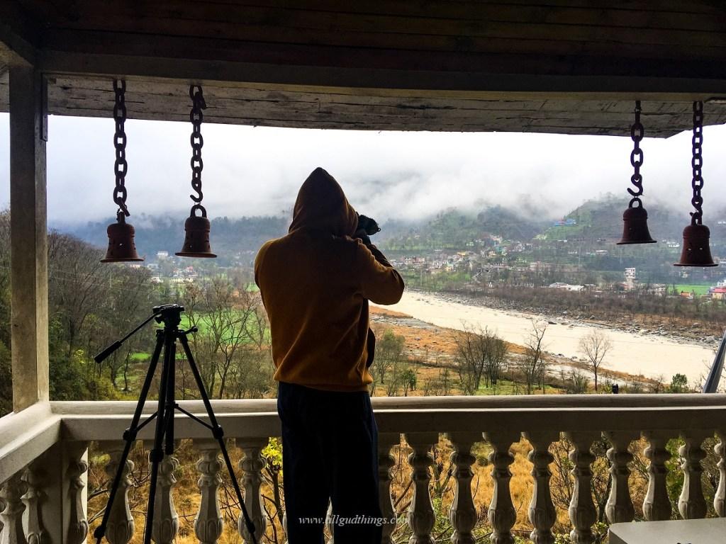 View of River Ravi and Chamba from our Balcony- Dalhousie Chamba Khajjiar