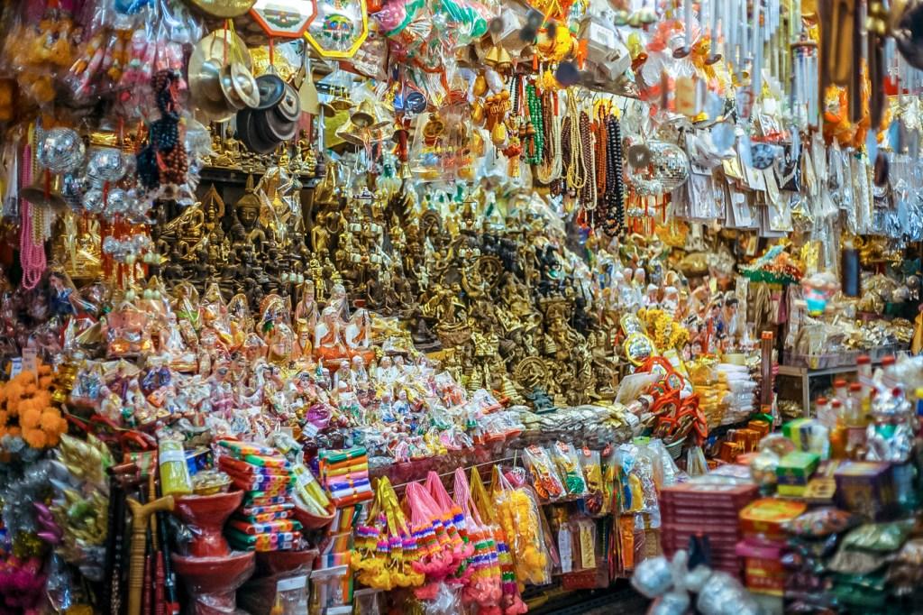 Souvenirs in Chiang Mai Thailand