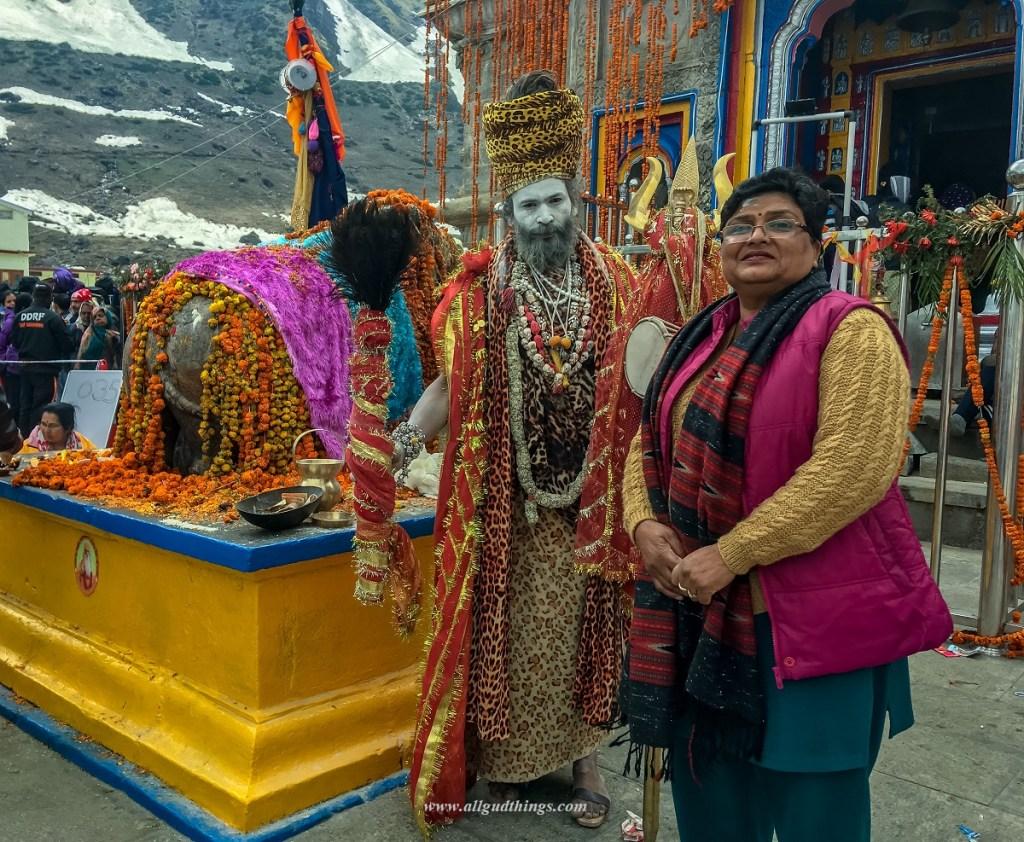 Bull Nandi at Kedarnath Temple