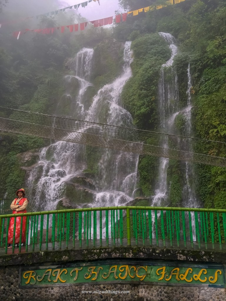 Bakthang Waterfall in Gangtok