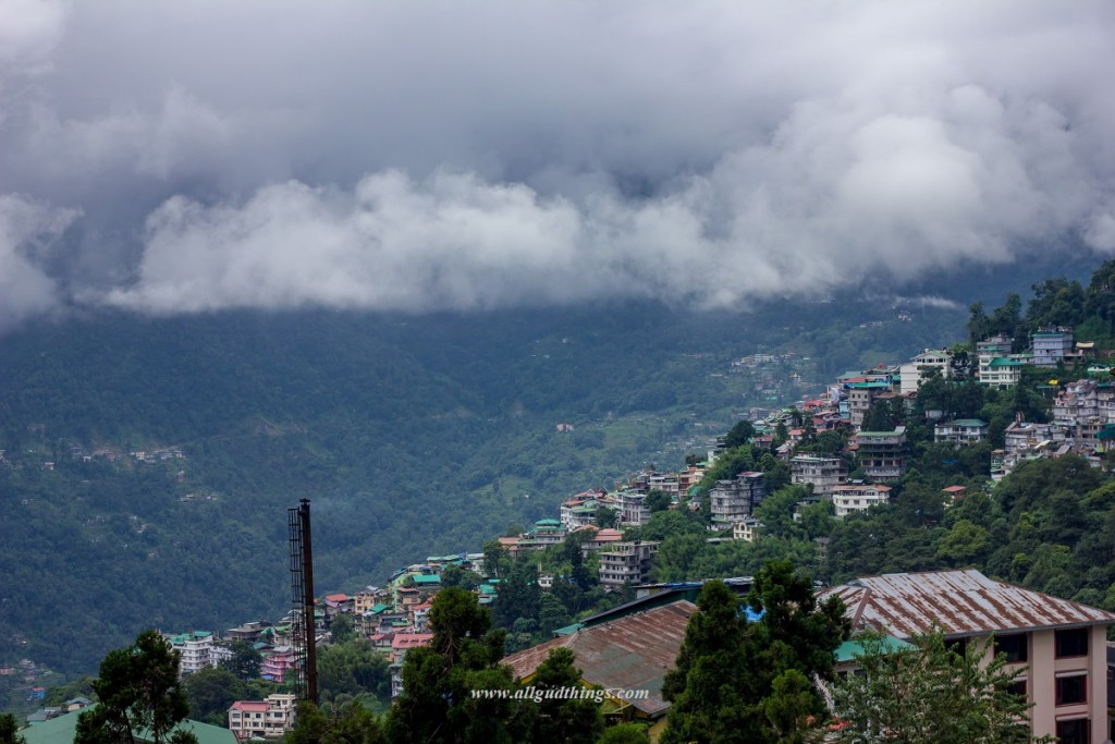 Gangtok during Monsoons