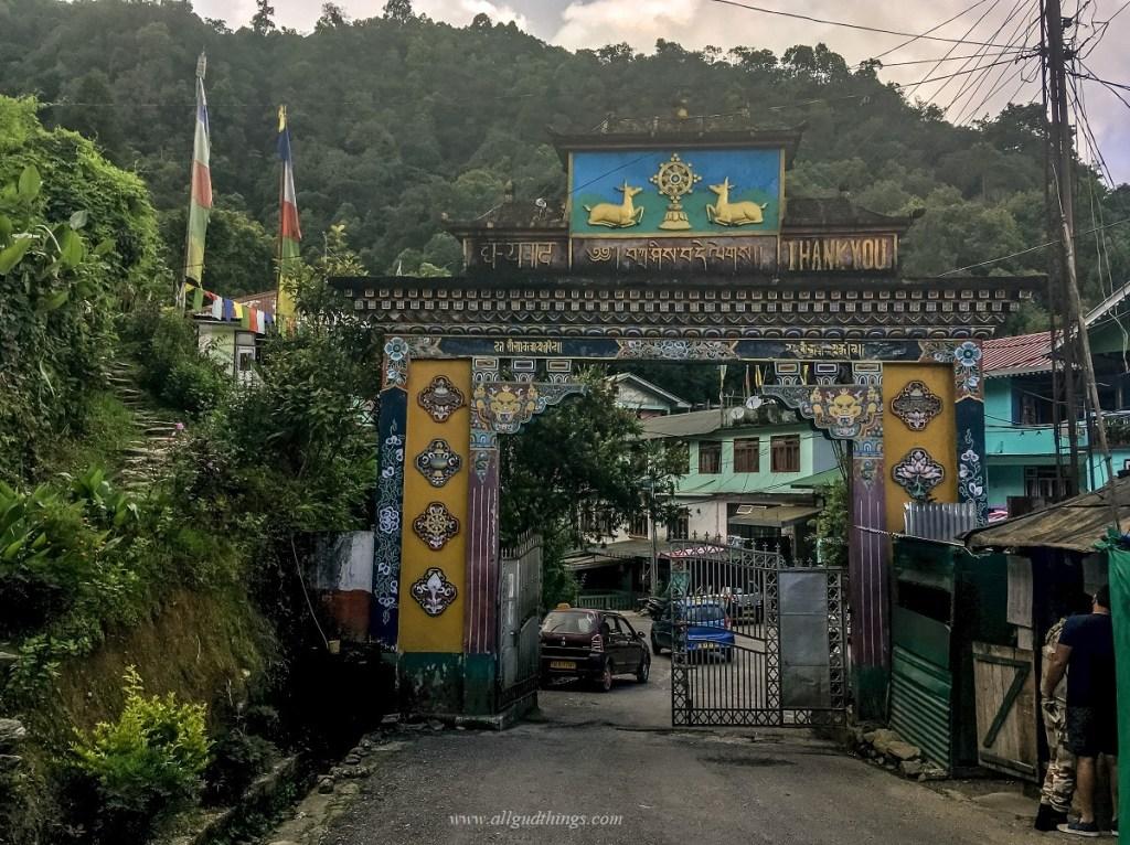 Entry Gate To Rumtek Monastery