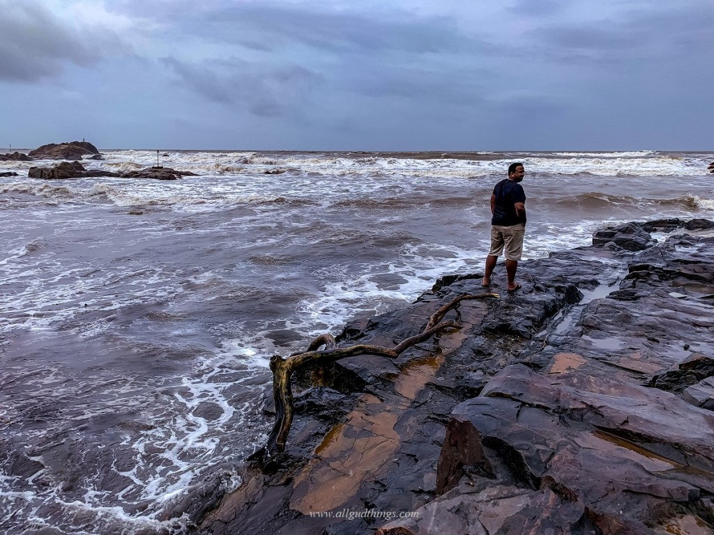 Vagator Beach - Offbeat Monsoon Destinations in India