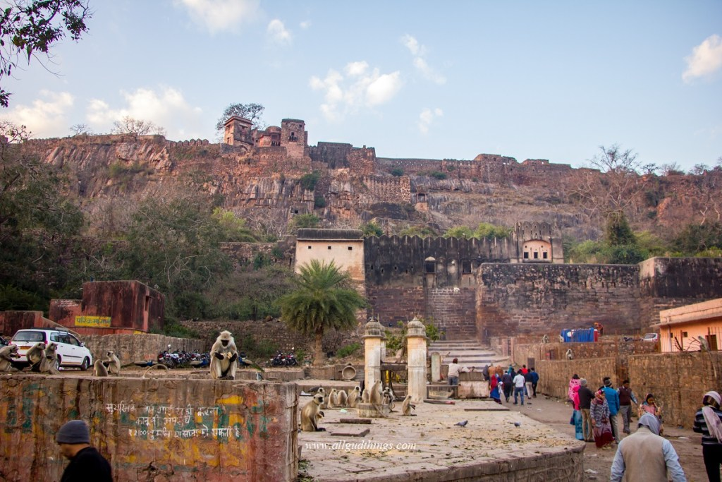 Ranthambore Fort Inside Ranthambore National Park