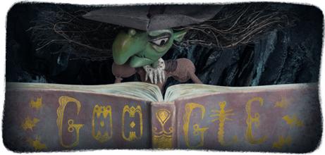 remembering some of google s best halloween horror doodles all hallows geek halloween horror doodles
