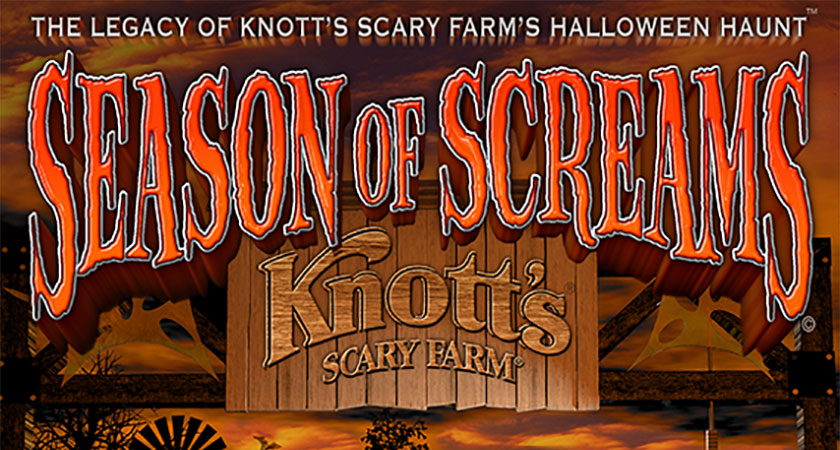 2020 Halloween Free Stream Online Knott's Scary Farm Documentary ' Season of Screams' Available to