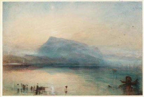 Turner, The Blue Rigi