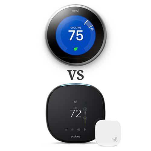 Ecobee vs Nest Smart Thermostat Comparison
