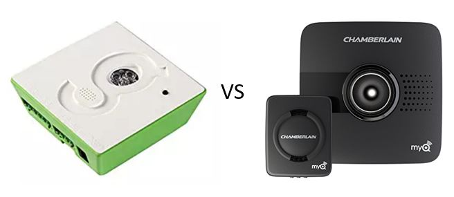 gogogate 2 vs myq smart garage opener which one is better